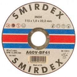 Δίσκος κοπής μετάλλου Inox Φ115Χ1,00Χ22