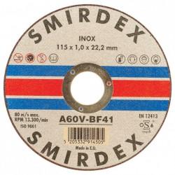 Δίσκος κοπής μετάλλου Inox Φ125Χ1,00Χ22