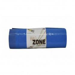 Σακούλα απορριμάτων Σε ρολό μπλε με κορδόνι 52Χ75 ρολό 10τεμαχίων