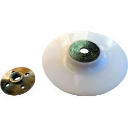Πλαστική βάση γωνιακού τροχού για γυαλόχαρτα σετ Φ125