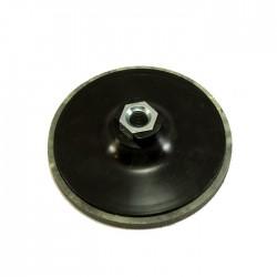 Μαξιλάρι γωνιακού τροχού με μαλακό πέλμα (χρατς) Φ115