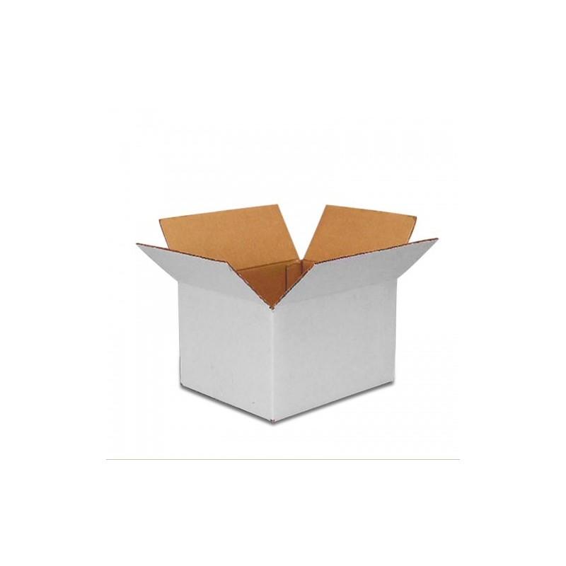 Χαρτοκιβώτιο 3Φ 25Χ25Χ8 Λευκό