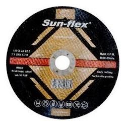 Δίσκος κοπής Inox Φ115Χ1Χ22 Sunflex