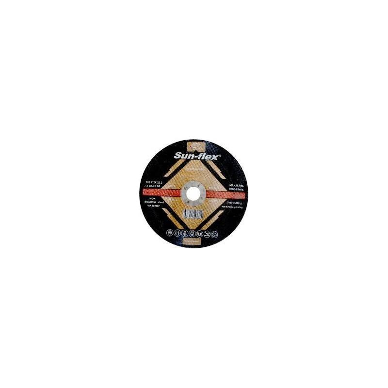 Δίσκος κοπής inox Φ125Χ1.00Χ22