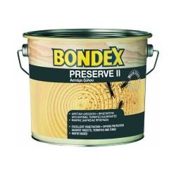Μυκητοκτόνο συντηρητικό ξύλου για σαράκι με εντομοκτόνο δράση Bondex 2,5LTR