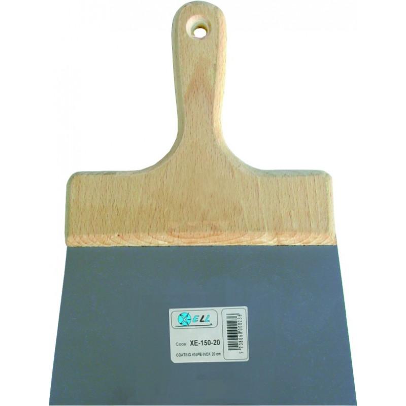 Σπάτουλα ΙΝΟΧ ξύλινη λαβή 14cm