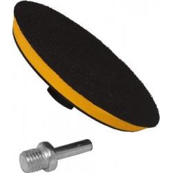 Βάση Γωνιακού Τροχού και Δραπάνου για Γυαλόχαρτα Velcro (χριτς-χρατς) 115mm